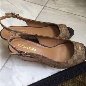 Coach shoes 8.5
